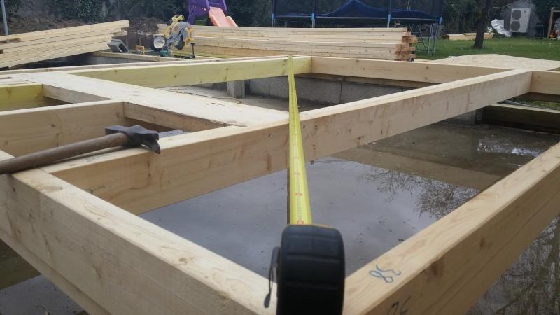 Construction d'un atelier en ossature bois ! - Le Bardage ! 20160317