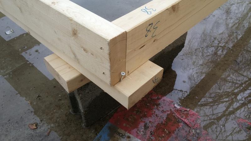 Construction d'un atelier en ossature bois ! - Le Bardage ! 20160318