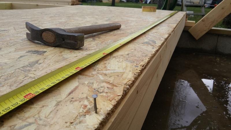 Construction d'un atelier en ossature bois ! - Le Bardage ! 20160320