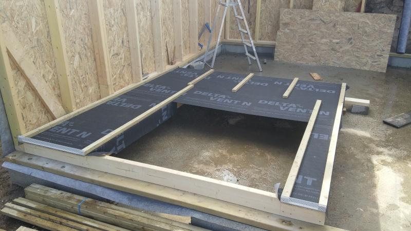 Construction d'un atelier en ossature bois ! - Le Bardage ! 20160321