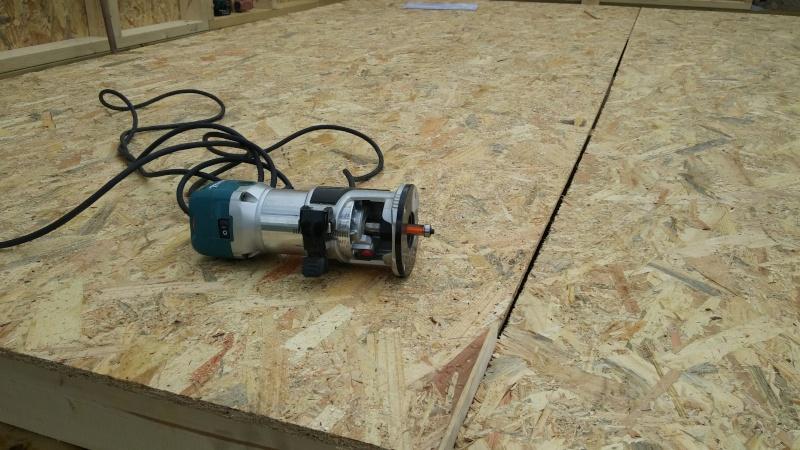 Construction d'un atelier en ossature bois ! - Le Bardage ! 20160323