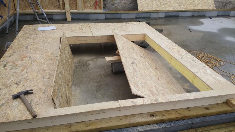 Construction d'un atelier en ossature bois ! - Le Bardage ! 20160324