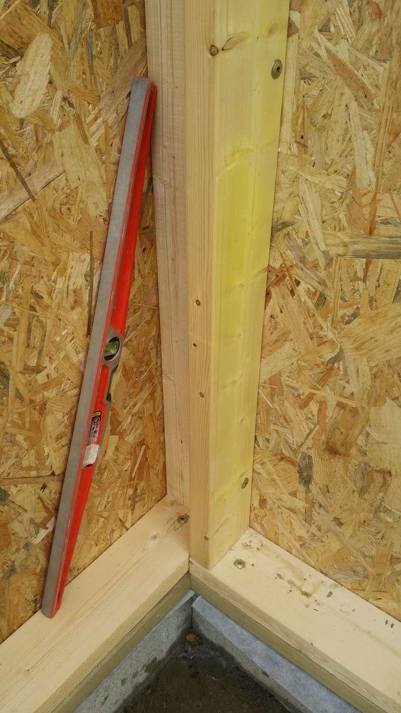Construction d'un atelier en ossature bois ! - Le Bardage ! 20160325