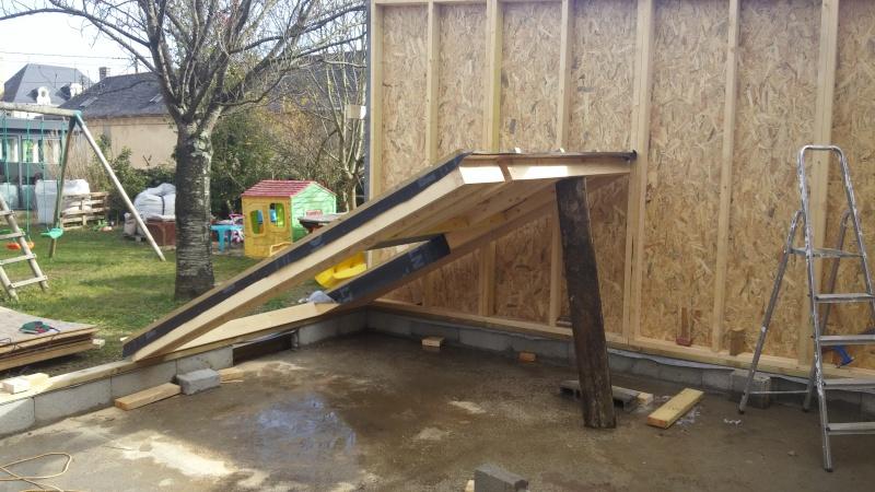Construction d'un atelier en ossature bois ! - Le Bardage ! 20160326