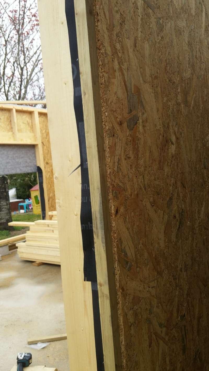 Construction d'un atelier en ossature bois ! - Le Bardage ! - Page 2 20160411