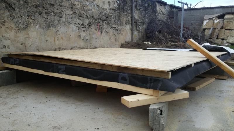Construction d'un atelier en ossature bois ! - Le Bardage ! - Page 2 20160413