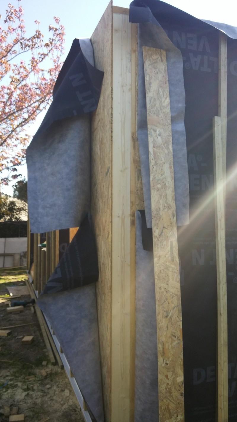 Construction d'un atelier en ossature bois ! - Le Bardage ! - Page 2 20160418