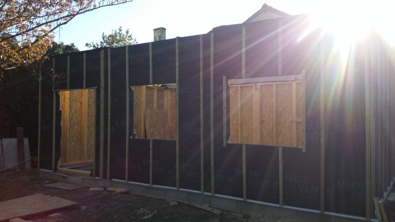 Construction d'un atelier en ossature bois ! - Le Bardage ! - Page 2 20160420