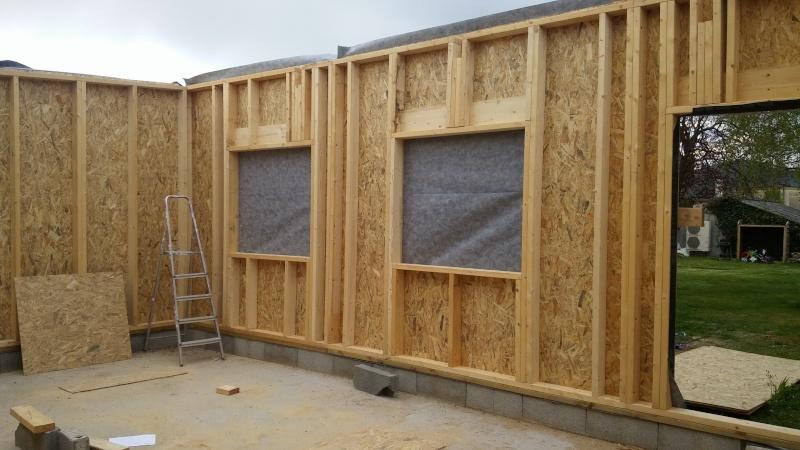 Construction d'un atelier en ossature bois ! - Le Bardage ! - Page 2 20160421