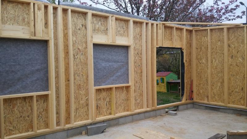 Construction d'un atelier en ossature bois ! - Le Bardage ! - Page 2 20160423