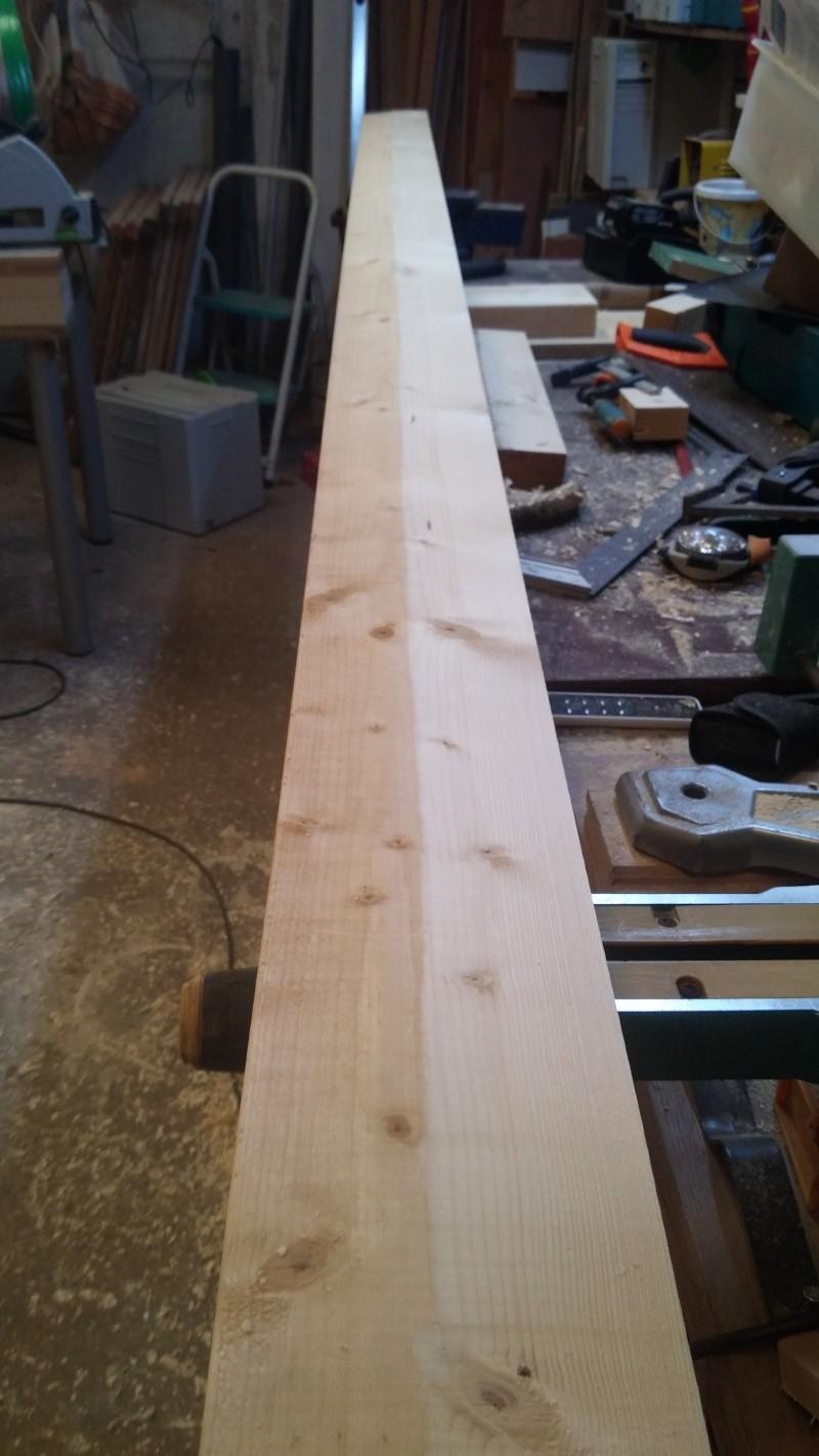 Construction d'un atelier en ossature bois ! - Le Bardage ! - Page 3 20160424