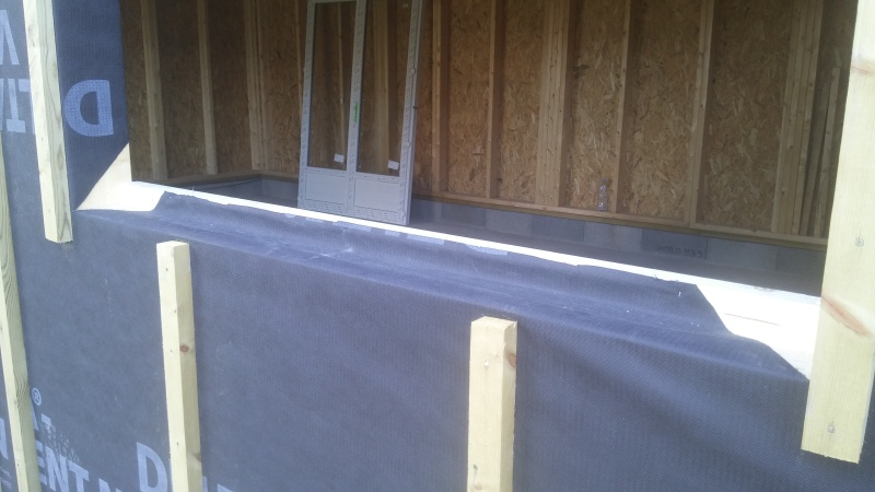 Construction d'un atelier en ossature bois ! - Le Bardage ! - Page 3 212
