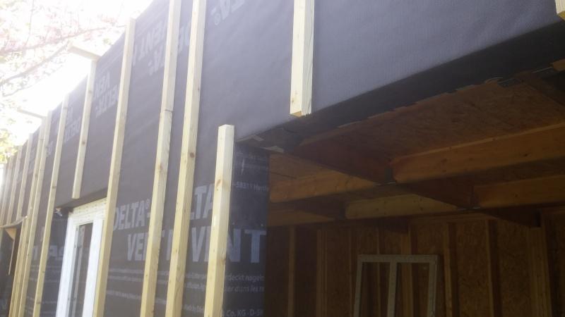 Construction d'un atelier en ossature bois ! - Le Bardage ! - Page 3 414
