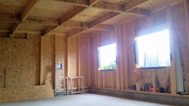Construction d'un atelier en ossature bois ! - Le Bardage ! - Page 3 514