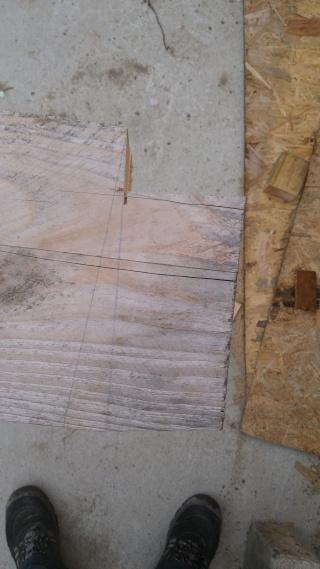 Construction d'un atelier en ossature bois ! - Le Bardage ! - Page 3 612