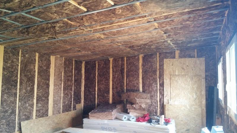 Construction d'un atelier en ossature bois ! - Le Bardage ! - Page 4 614