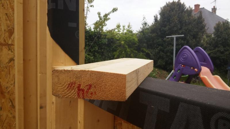 Construction d'un atelier en ossature bois ! - Le Bardage ! - Page 3 711