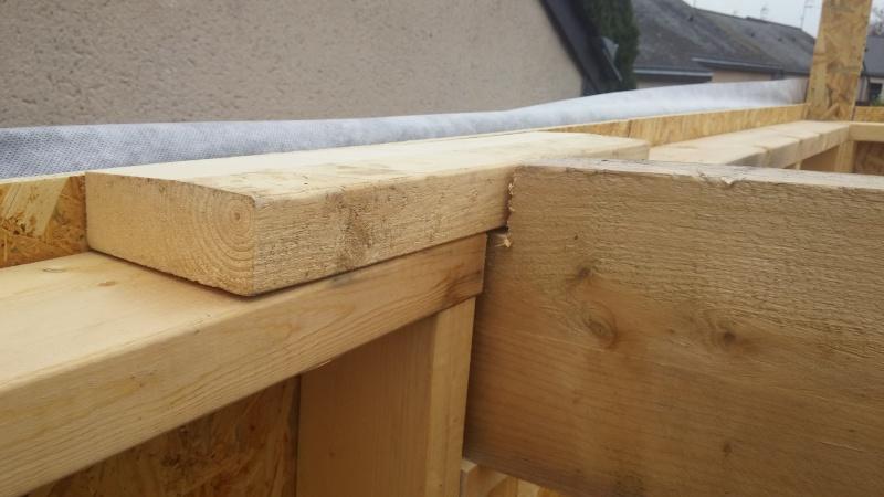 Construction d'un atelier en ossature bois ! - Le Bardage ! - Page 3 811