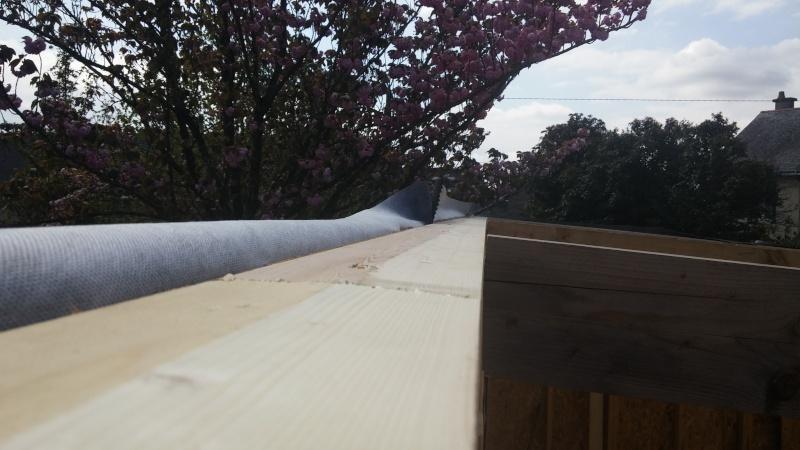 Construction d'un atelier en ossature bois ! - Le Bardage ! - Page 3 911