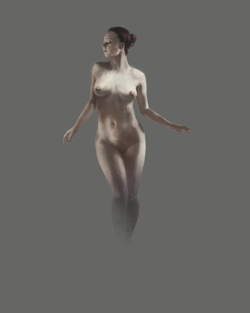 [NUDITE] -Saezher- Etudes, croquis et autres essais - Page 4 Nude_m10