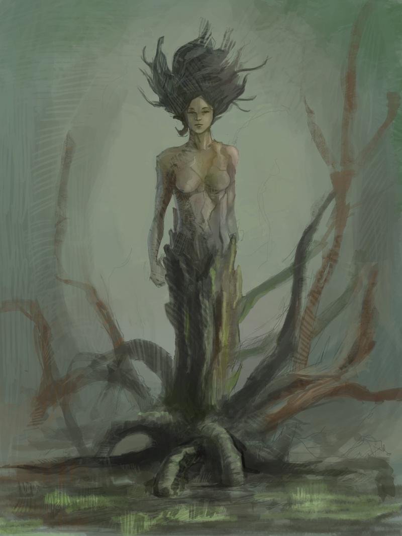 [NUDITE] -Saezher- Etudes, croquis et autres essais - Page 4 Tree-w10