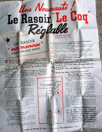 Le Coq réglable licence Palmer (années 1930-1950 ?) Lecoqi10