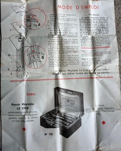 Le Coq réglable licence Palmer (années 1930-1950 ?) Lecoqi11