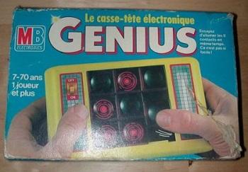 Milton Bradley (MB): Tous les jeux et jouets gamme par gamme Genius10