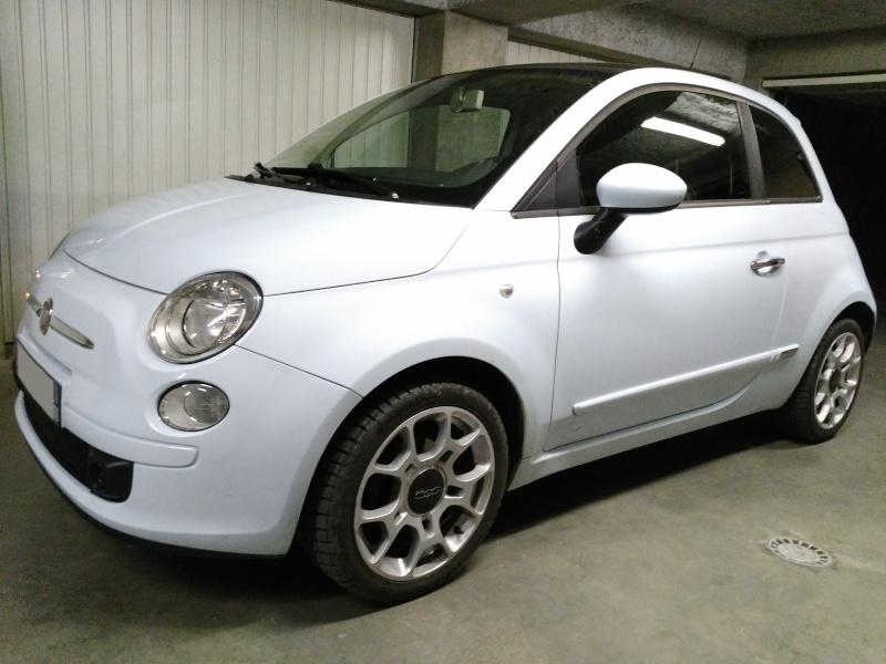 (Fiat 500 - 1.3 Mjet 75 Sport) La voiture a madame!! Img_2017