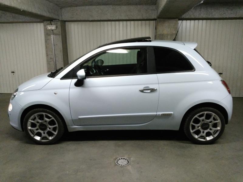 (Fiat 500 - 1.3 Mjet 75 Sport) La voiture a madame!! Img_2019