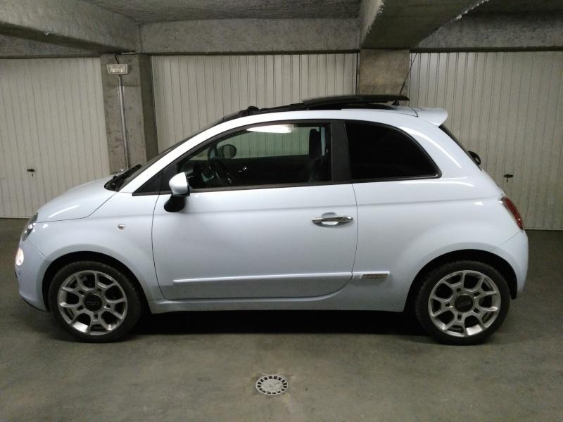 (Fiat 500 - 1.3 Mjet 75 Sport) La voiture a madame!! Img_2021