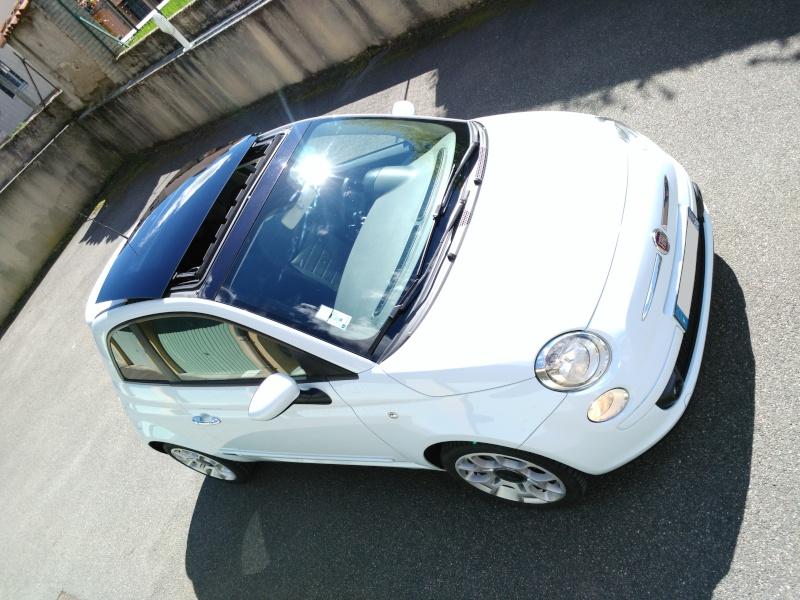 (Fiat 500 - 1.3 Mjet 75 Sport) La voiture a madame!! Img_2024
