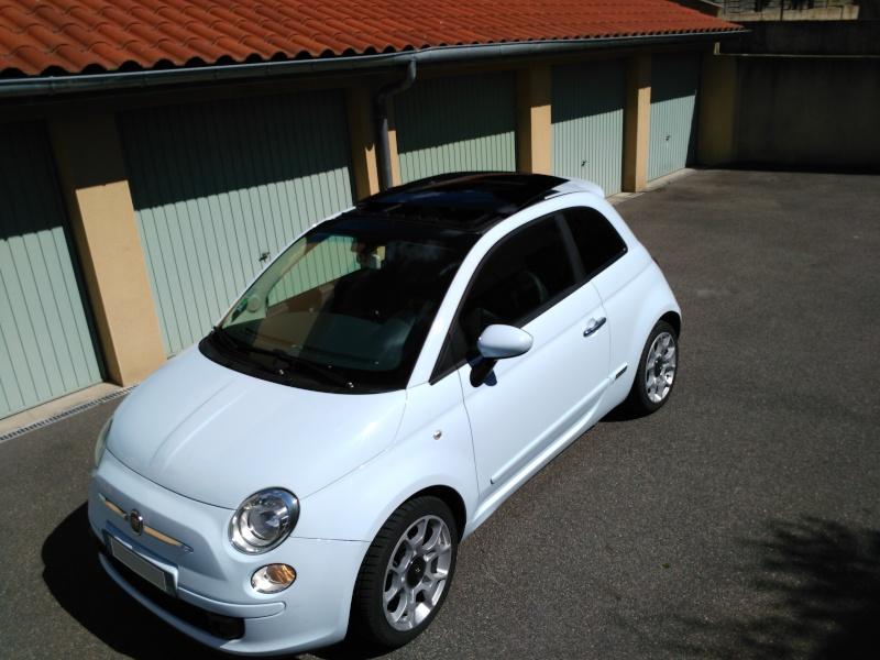 (Fiat 500 - 1.3 Mjet 75 Sport) La voiture a madame!! Img_2025