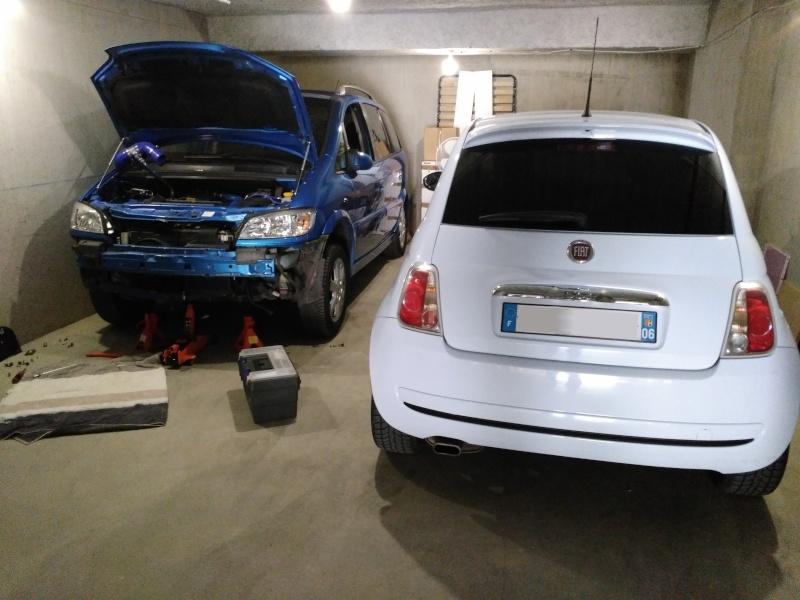 (Fiat 500 - 1.3 Mjet 75 Sport) La voiture a madame!! Img_2027