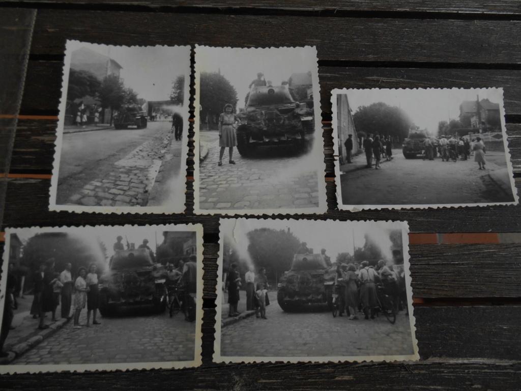 Lot de 5 photos libération d'une ville 28 août 1944 Dscn4566
