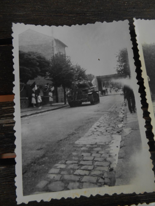 Lot de 5 photos libération d'une ville 28 août 1944 Dscn4568