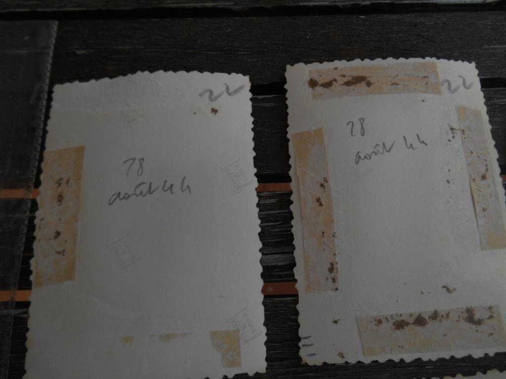 Lot de 5 photos libération d'une ville 28 août 1944 Dscn4573