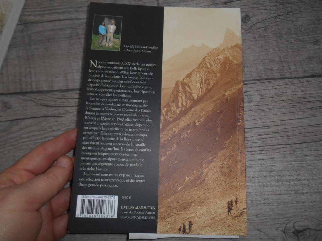Livre : mémoire en image : les troupes alpines Dscn5816