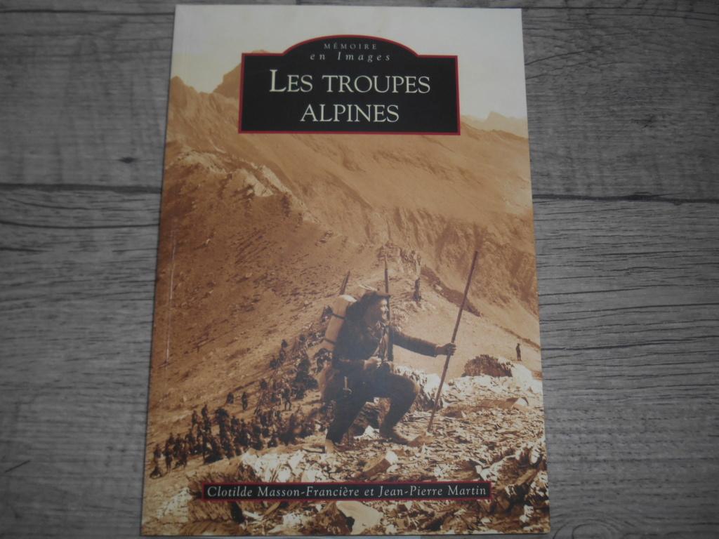 Livre : mémoire en image : les troupes alpines Dscn5818