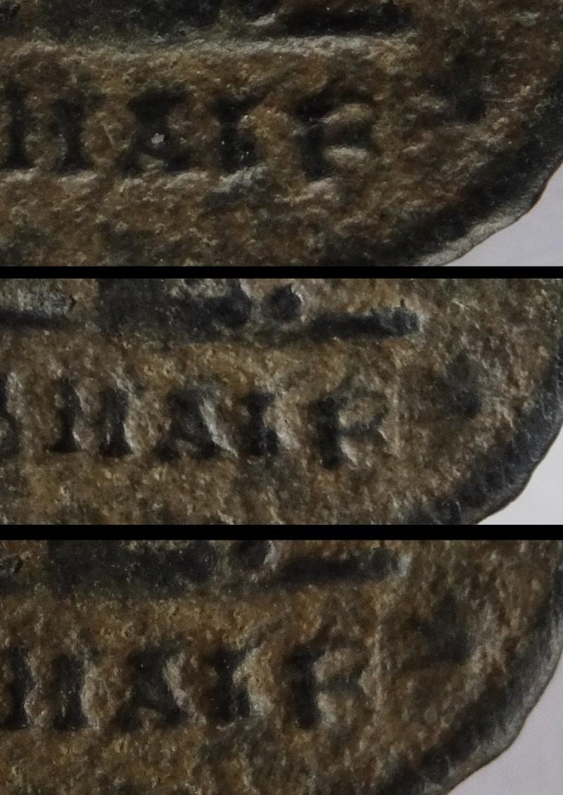 Nummi de consécration - Constantin I  - Page 3 Exergu10