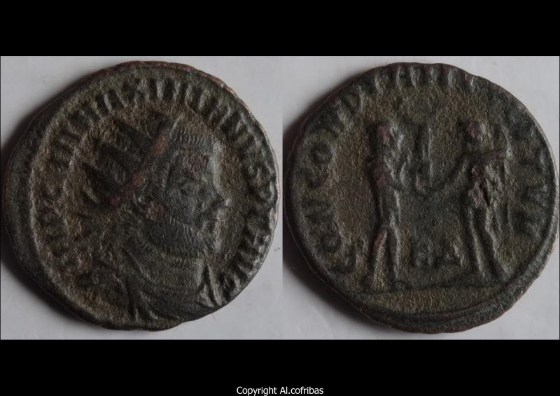 Maximien - Dioclétien, Concordia Militum x2 Maximi11