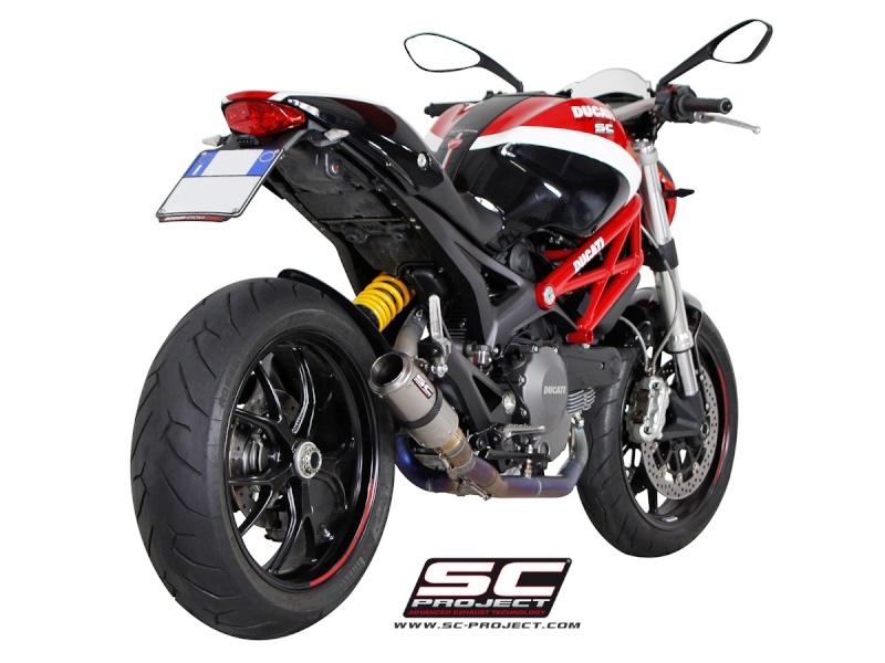 échappement 2 en 1 position basse pour 796 - Page 2 Ducati11