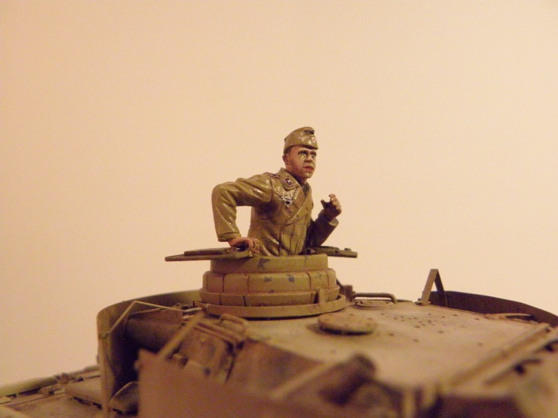 Panzer III Ausf M Dragon 1/35 canon et schürzen en photodécoupe P4040612