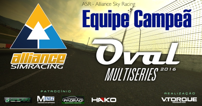 Alliance Sky Racing - Campeã do Oval MultiSeries Banner11