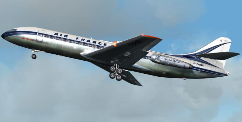 Sud-Aviation SE 210 Caravelle  Air France Mach 2 1/72 Se-21010