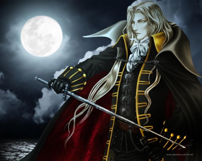 Alucard Adrian Fahrenheit Tepes Dracula of Castlevania Alucar11