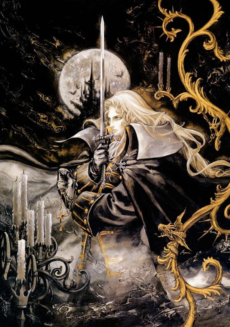Alucard Adrian Fahrenheit Tepes Dracula of Castlevania Alucar18