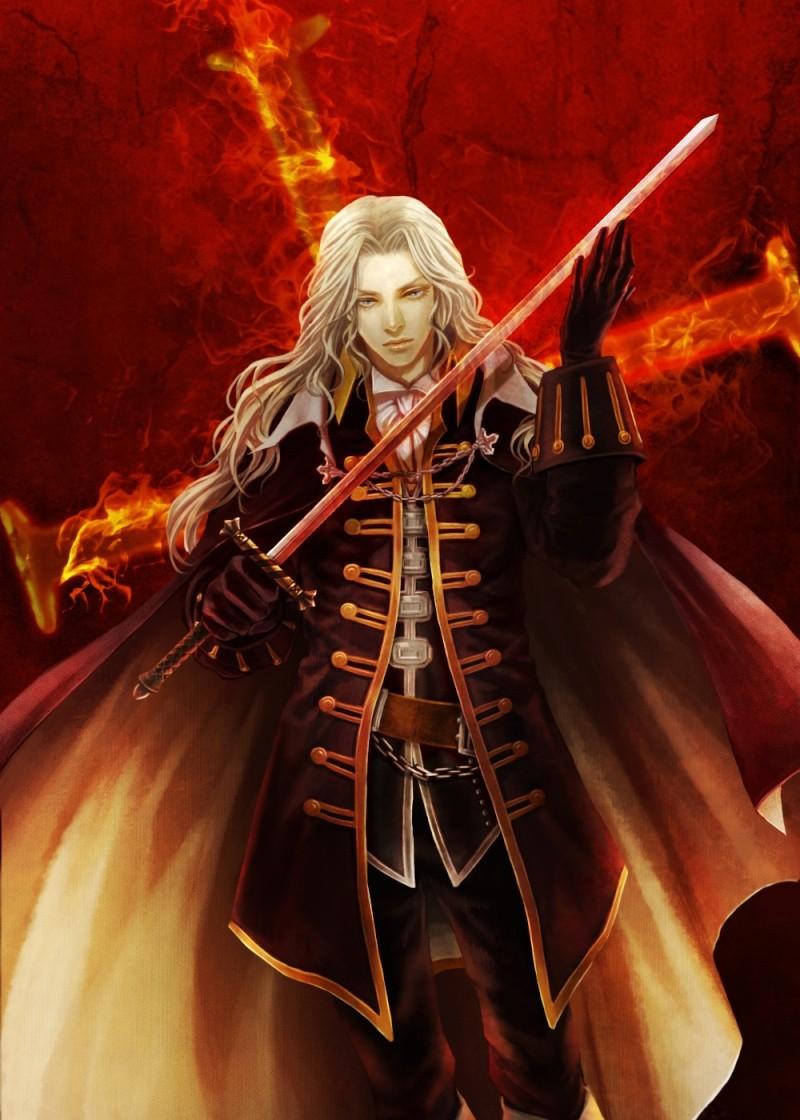 Alucard Adrian Fahrenheit Tepes Dracula of Castlevania Alucar22