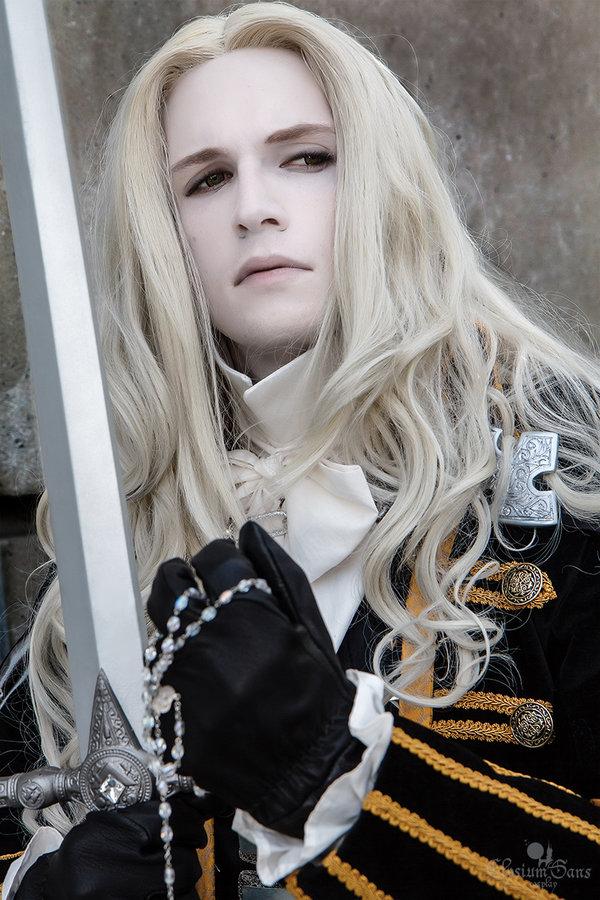 Alucard Adrian Fahrenheit Tepes Dracula of Castlevania Castle10