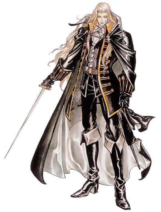 Alucard Adrian Fahrenheit Tepes Dracula of Castlevania Mts_sa11